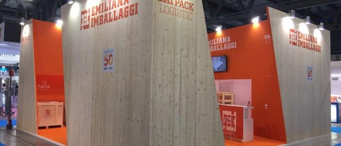 costruzione stand ipack ima 2018 stand emiliana imballaggi